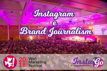 instago al web marketing festival 2018