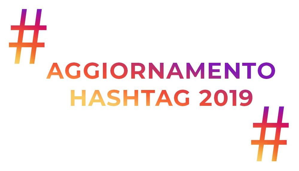 aggiornamento instagram hashtag