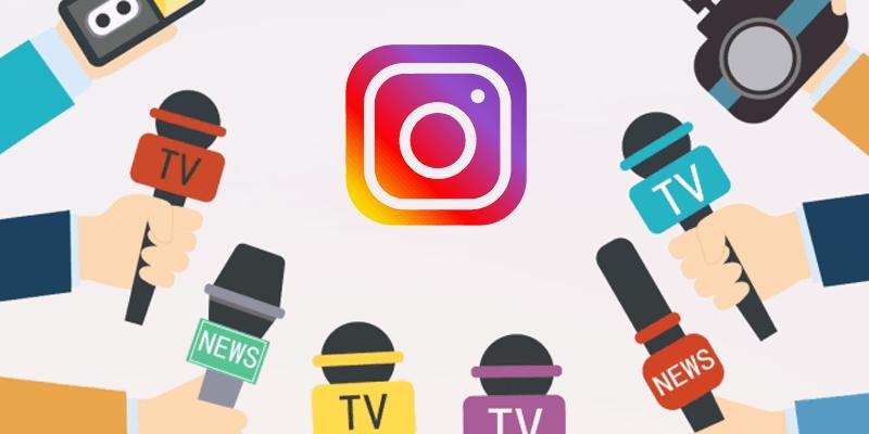 Instagram per il giornalismo e l'editoria