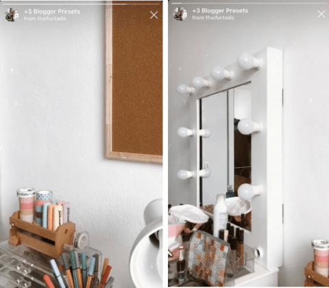 Filtri per Instagram stories