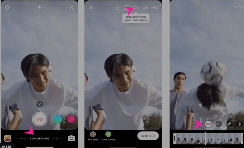 Instagram Boomerang: arrivano nuovi effetti speciali