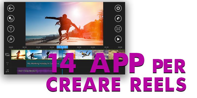 14 app per l'editing video
