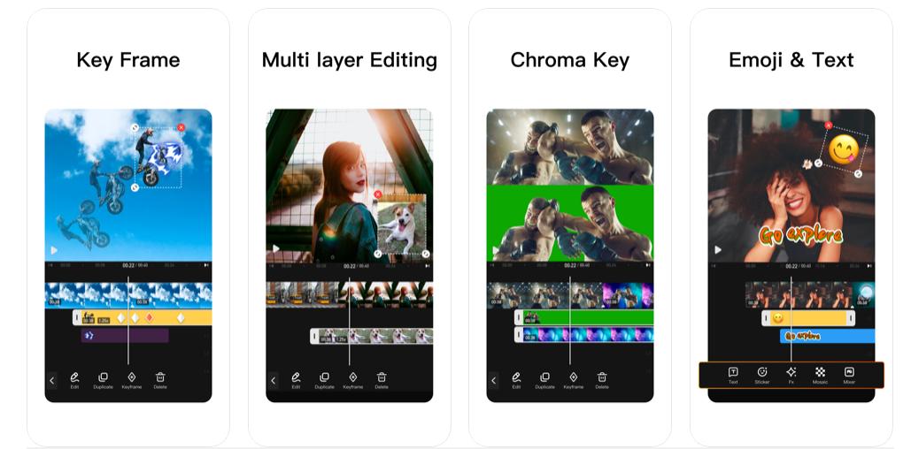 App per montaggio video
