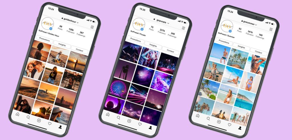 I migliori preset Instagram 2021
