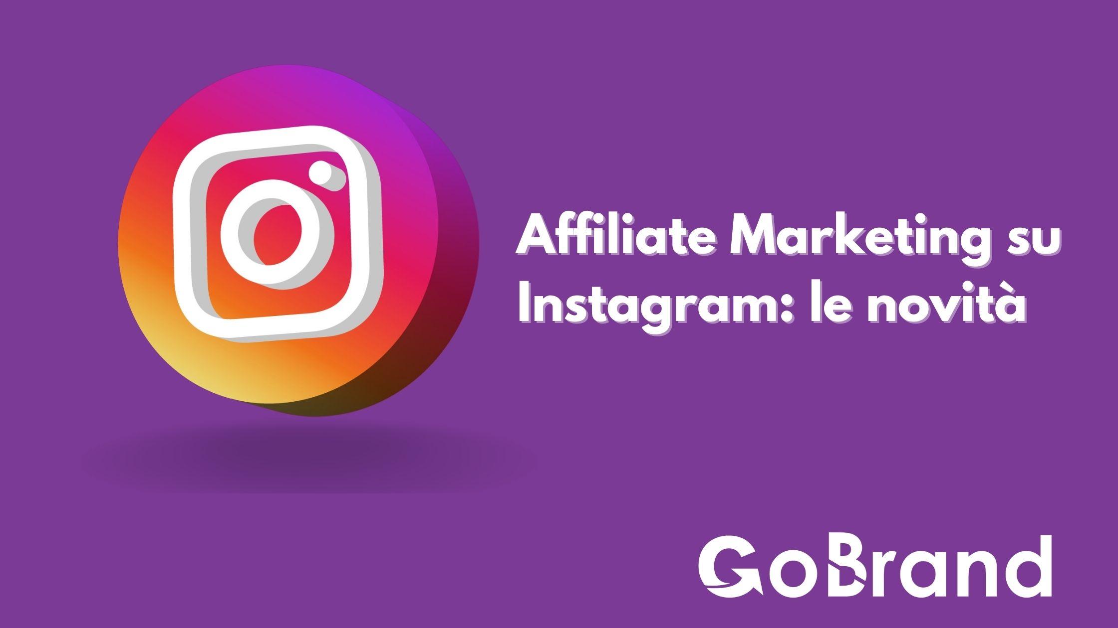Affiliate marketing su Instagram