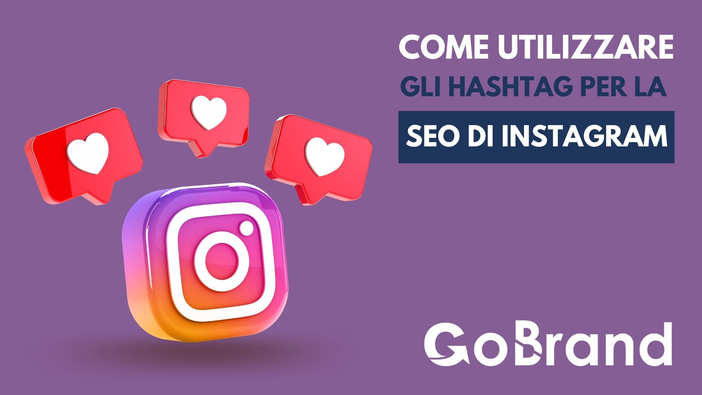 Utilizzare gli hashtag per la Seo di Instagram